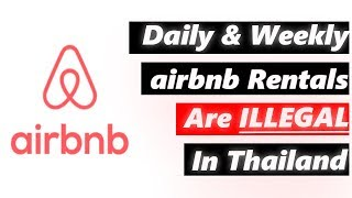 Gambar cover AirBnB Bangkok and AirBnB Thailand: Daily and weekly rentals are now illegal!