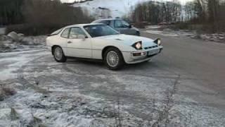 porsche 924 turbo test drive