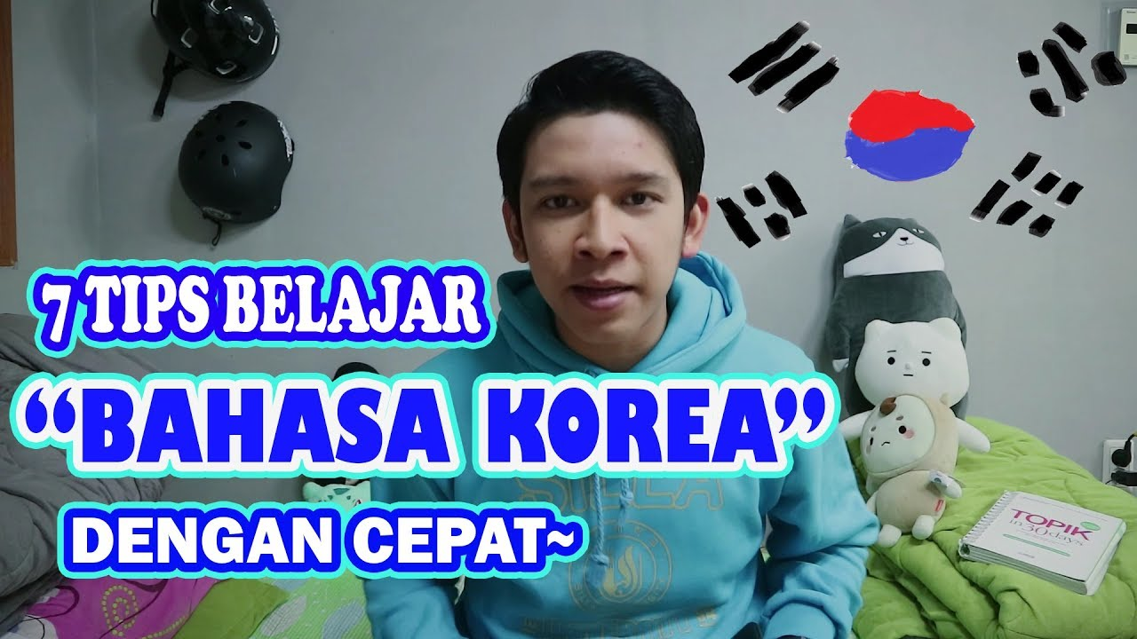 TIPS BELAJAR BAHASA KOREA (hafal dengan cepat!!~) - YouTube