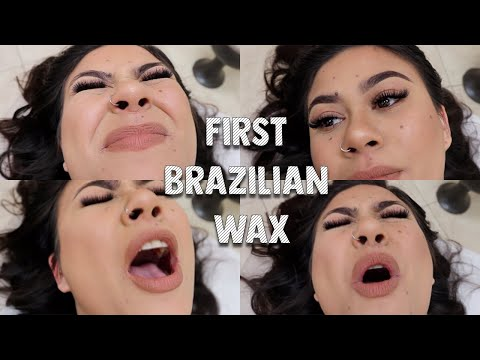 FIRST TIME GETTING A BRAZILIAN WAX