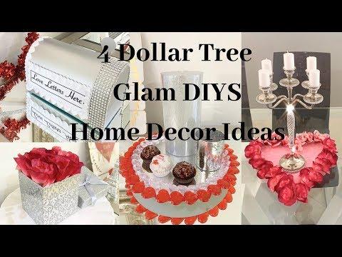 Dollar Tree 4 DIY GLAM Valentines Wedding Decor Ideas 2019
