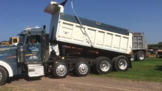 1999 Peterbuilt 379 Quad Axle Dump Truck For Sale by Online Auction