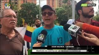 Venezuela - Carabobeños protestaron para exigir la salida de Nicolás Maduro - VPItv