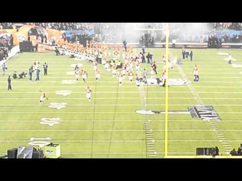 Entrada de los Broncos Super Bowl XLVIII