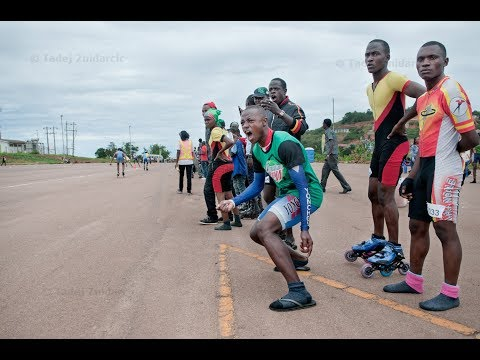2nd Africa Speed Skating Championship random video Day 1 Official Opening