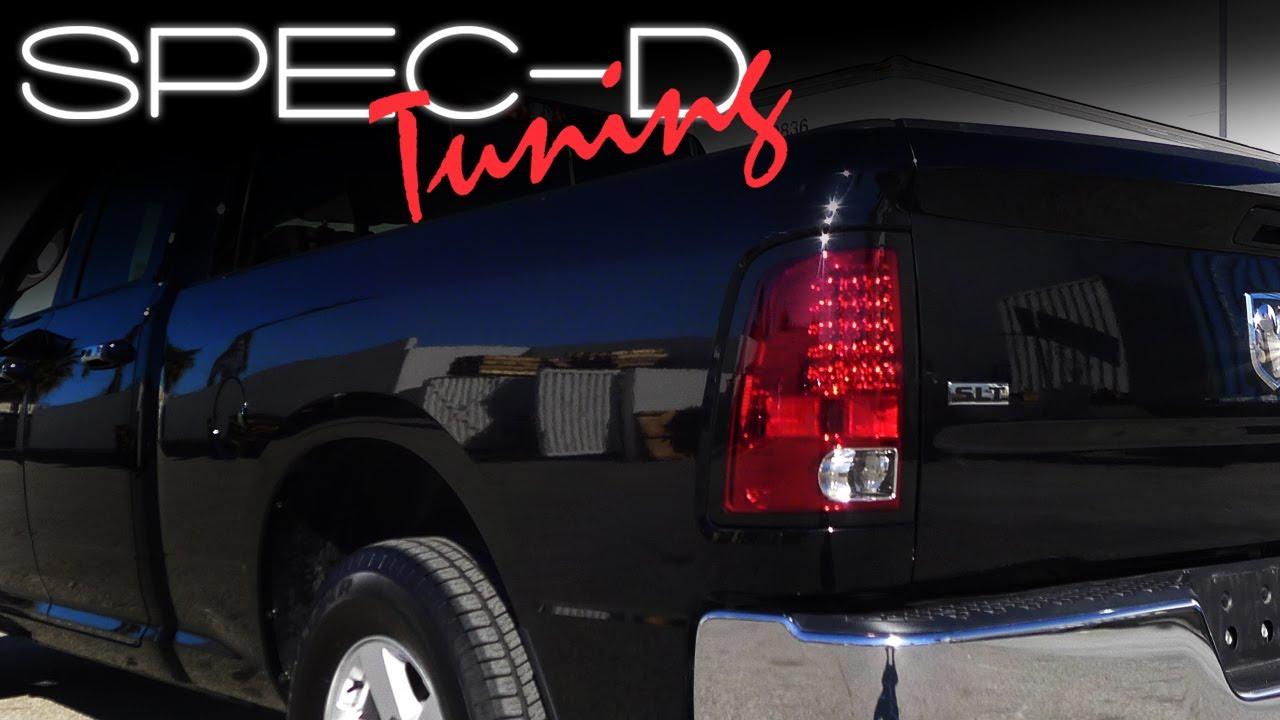 Specdtuning Installation Video 2009 2017 Dodge Ram Led Tail Lights