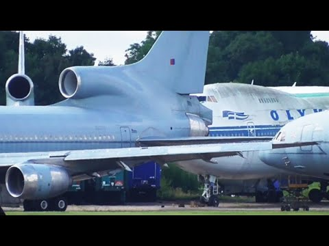 Stored Aircraft at Bruntingthorpe | 28/08/2016