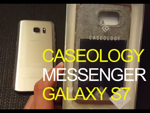 huge discount 815a1 204c7 Caseology leather Messenger Galaxy S7 wallet Case Unboxing Review