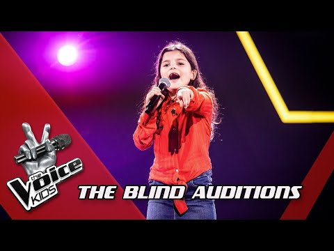 Jana - 'Pina Colada' | Blind Auditions | The Voice Kids | VTM