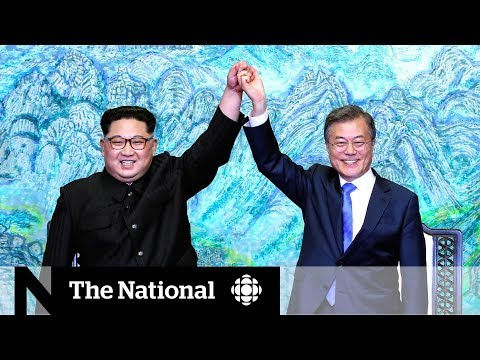 Kim Jong-un, Moon Jae-in agree to end war, complete denuclearization