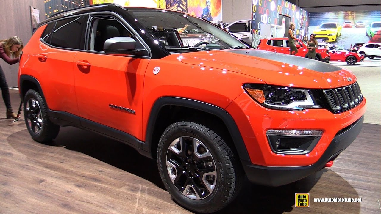 2017 jeep compass trailhawk exterior and interior walkaround debut at 2016 la auto show. Black Bedroom Furniture Sets. Home Design Ideas