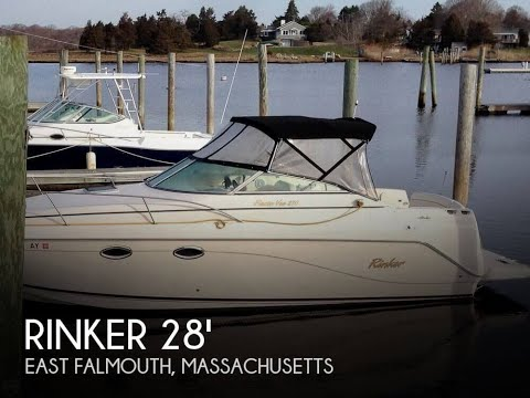 [SOLD] Used 2003 Rinker 270 Fiesta Vee in East Falmouth, Massachusetts