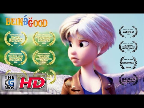 "**Award Winning** CGI 3D Animated Short Film: ""Being Good"" - by Jenny Harder | TheCGBros"