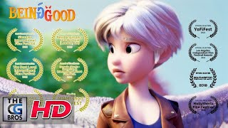"**Award Winning** CGI 3D Animated Short Film: ""Being Good"" - by Jenny Harder"