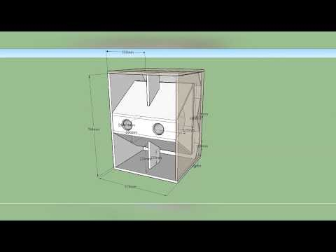 [SPEAKER BOX PLAN] WBOX MINI Single 18 inch Professional Subwoofer Box