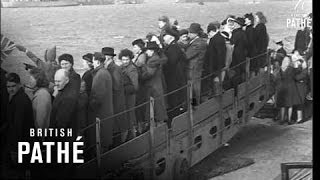 Return Of Ship King George V To Portsmouth (1940-1949)