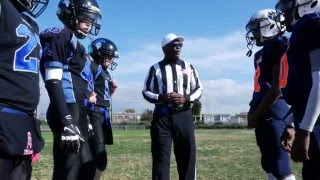 Watts Bears: LAPD Southeast Division Officers help coach  youth on and off the field.