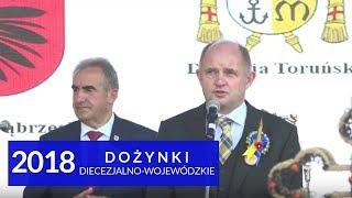Przemówienie marszałka Piotra Całbeckiego podczas dożynek diecezjalno-wojewódzkich 2018