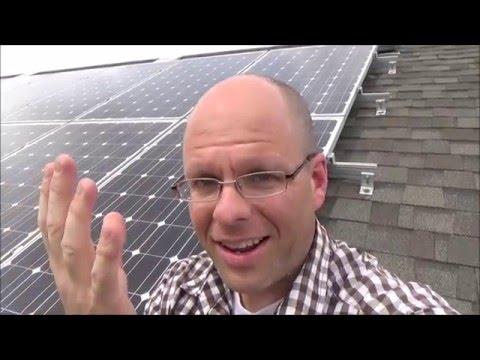 My Net Positive Home: The Solar Array