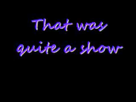 Take A Bow Glee Cast Lyrics
