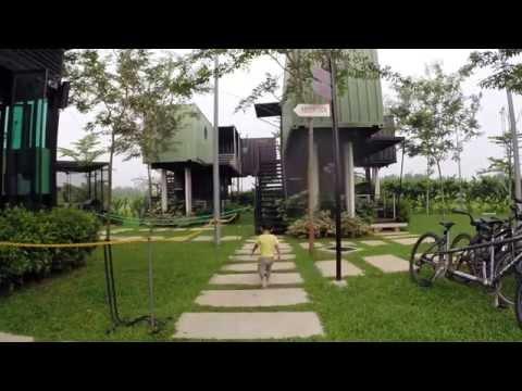 Kuala Selangor, The Kabin On  Mama O Travel