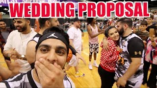 REACTING TO QIAS OMAR'S WEDDING PROPOSAL! (Behind The Scenes)