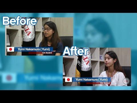 (English School in Cebu Philippines)Cebu International Academy - (YUMI Interview) Before & After
