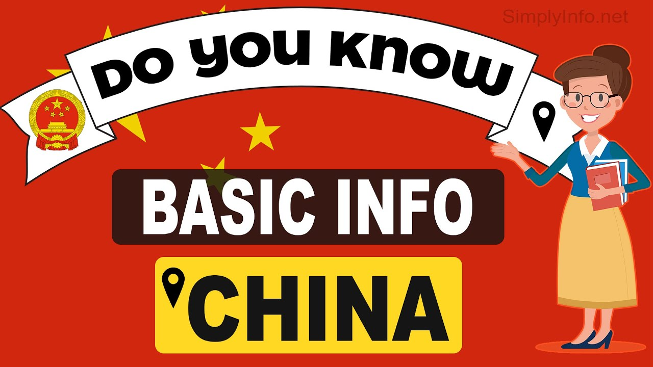 Do You Know China Basic Information | World Countries Information #36 - General Knowledge & Quizzes #1
