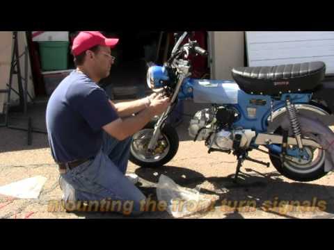 honda trail winter wiring project youtube1967 Honda Ct90 Wiring Diagram #20