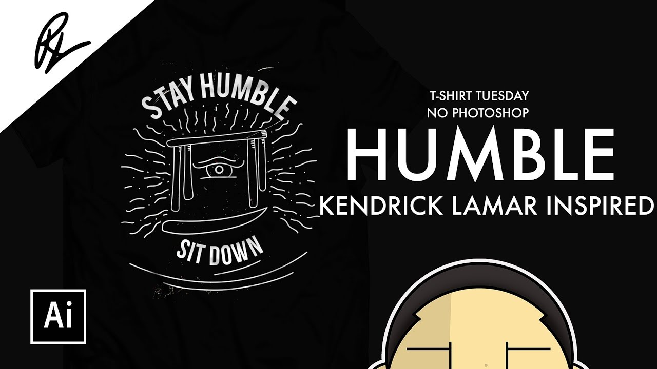 67e632fa MORE Rap and Hip Hop T Shirts   Be Humble, Sit Down - YouTube