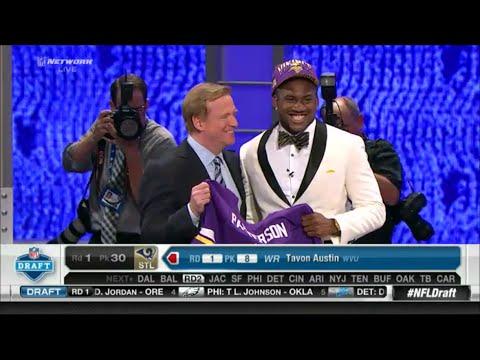 2013 NFL Draft Rd 1 Pk 29 | Minnesota Vikings Select WR Cordarrelle Patterson
