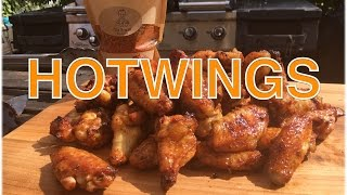 HOTWINGS scharfe CHICKENWINGS vom Grill  ---  Klaus grillt