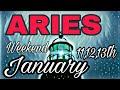 ARIES Jan2019 PATIENCE PERSISTENCE NEWS BIRTH FERTILITY HARVEST  Weekend Psychic Tarot Card Reading