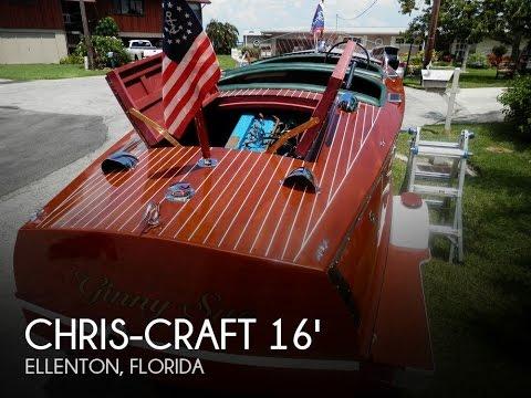 [SOLD] Used 1941 Chris-Craft 16 Model 101 In Ellenton, Florida