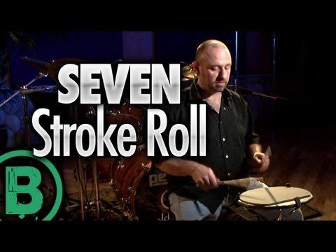 Seven Stroke Roll - Free Beginner Drum Rudiment Lessons