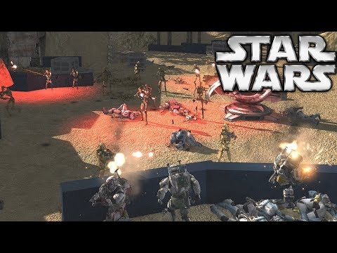 24 Clone Commando's Defend against 300 Droid Marines - Star Wars Galaxy at War