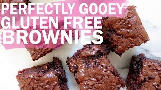 Quick & Easy Perfectly Gooey Brownies (gf + df)