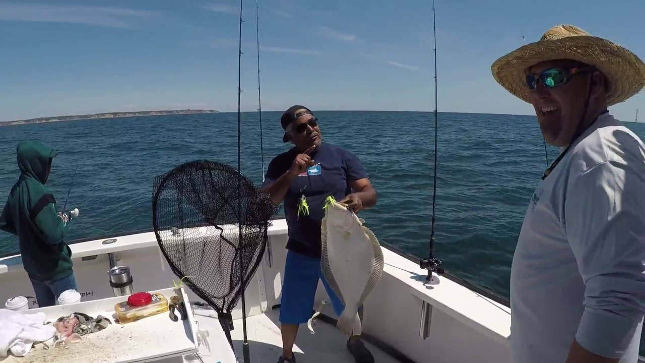 Booked off charters 10lb fluke rhode island youtube for Ri fishing charters