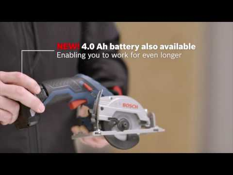 Bosch GKS 10.8V LI Cordless Circular Saw - Product Overview