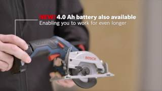 Bosch GKS 10.8V LI Cordless Circular Saw - Product Overview