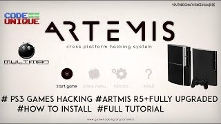 Artmis PS3 New update (PS3 Games Hacking) 2019