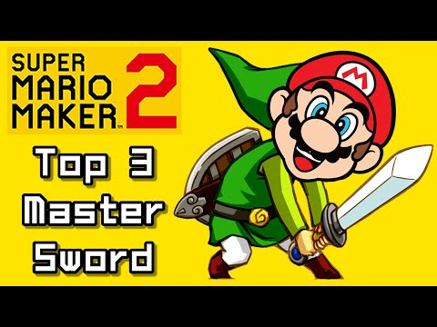 Super Mario Maker 2 Top 3 New LINK - MASTER SWORD Courses (Switch)