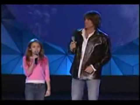 Miley Ray Cyrus Singing Holding Onto a Dream with Billy Ray