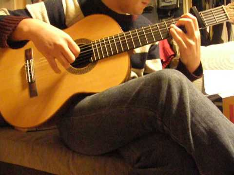 Brave Song Angel Beats Ed Classical Guitar Solo Youtube
