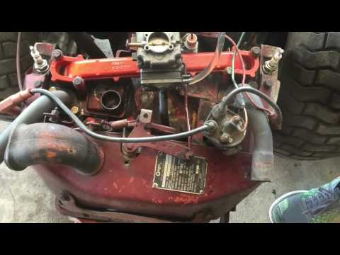 Gravely 816 New Points/Cap/Carb adjustment