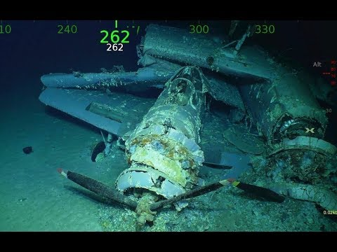 What's better than finding a lost aircraft Finding it 10,000 feet under water!