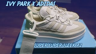 IVY PARK X ADIDAS   SUPER SUPER SLEEK 72   TRY-ON SHOE REVIEW   BEYONCE ICY PARK