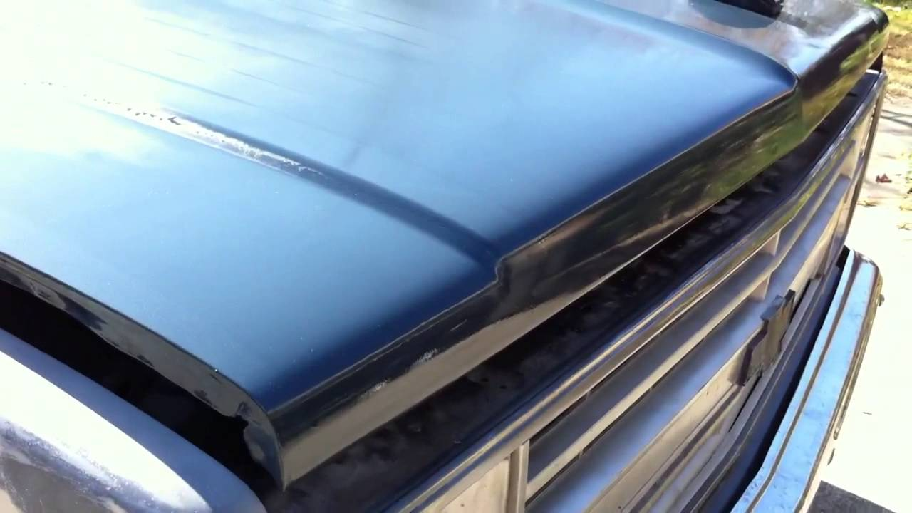 Rustoleum Paint Job Rolled On - 84 Chevrolet Truck C10 ...