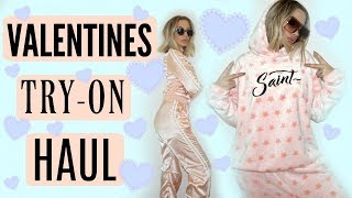 VALENTINES DAY TRY-ON HAUL