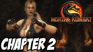 "SUCH A TINY WAIST! | Mortal Kombat 9: Sonya Blade ""Story Mode"" (Chapter 2)"